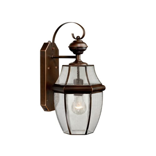 Vaxcel Calvin Outdoor 1 Light Wall Lantern