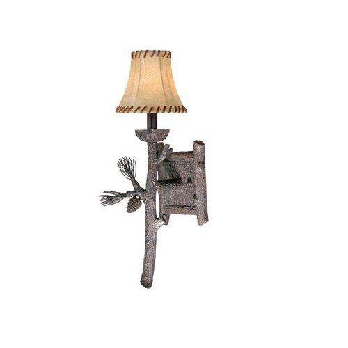 Vaxcel Yellowstone 1 Light Wall Sconce