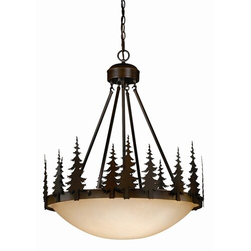 Yosemite 4 Light Inverted Pendant