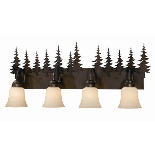 Vaxcel Yosemite 4 Light Vanity Light