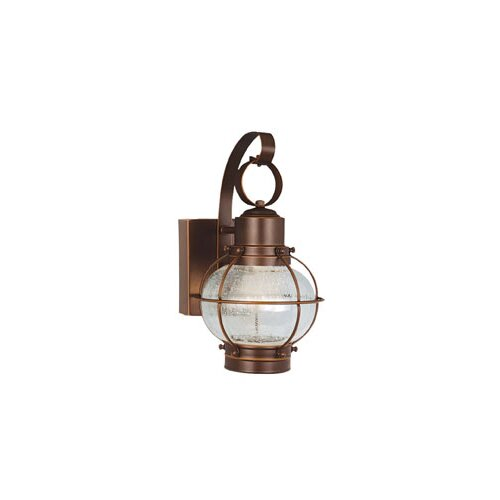 Vaxcel Chatham LED Outdoor 3 Light Wall Lantern