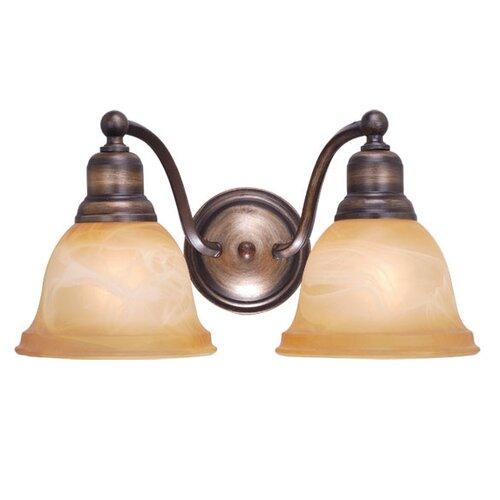 Vaxcel Lasalle 2 Light Vanity Light