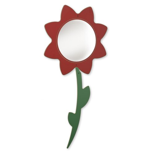 Whitney Brothers Flower Mirror