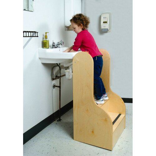 Whitney Brothers Step Up Tall Stairs Step Stool