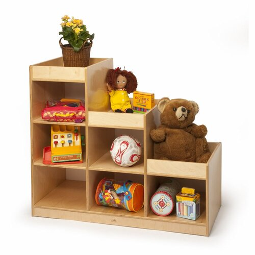 Whitney Brothers Pyramid 6 Compartment Cubby