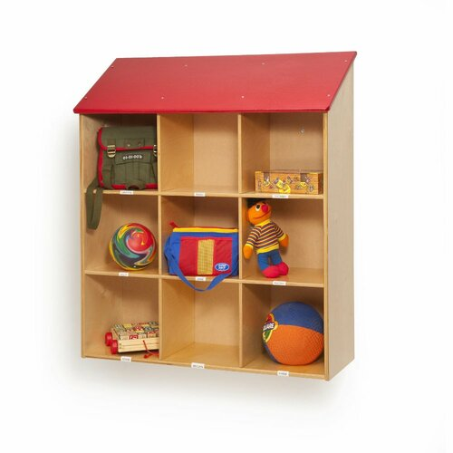 Whitney Brothers Wall 9 Compartment Cubby