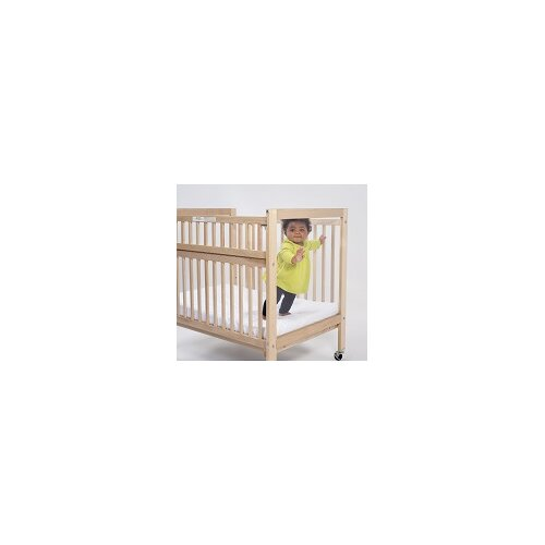 Whitney Brothers Clear View Folding Rail Crib