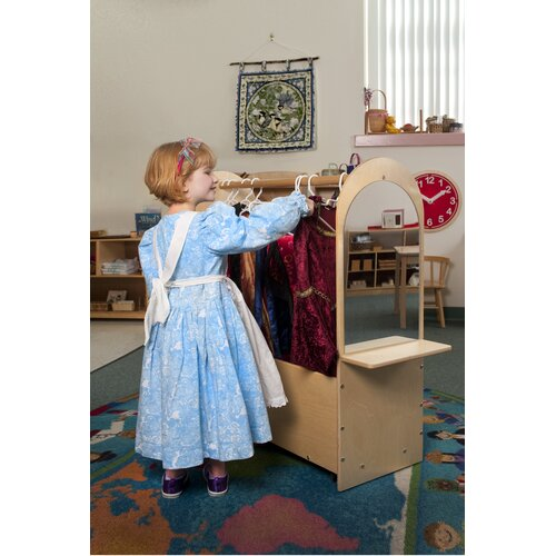 Whitney Brothers Portable Dress-Up Rack