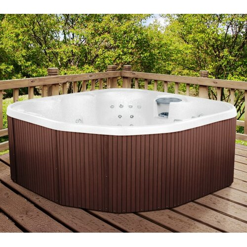 Lifesmart 5-Person 17-Jet Rock Solid Sierra Plug and Play Spa