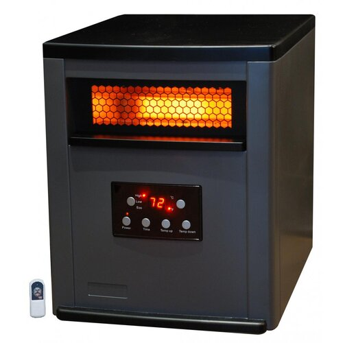 Life Pro 6 Element Infrared Heater with Remote