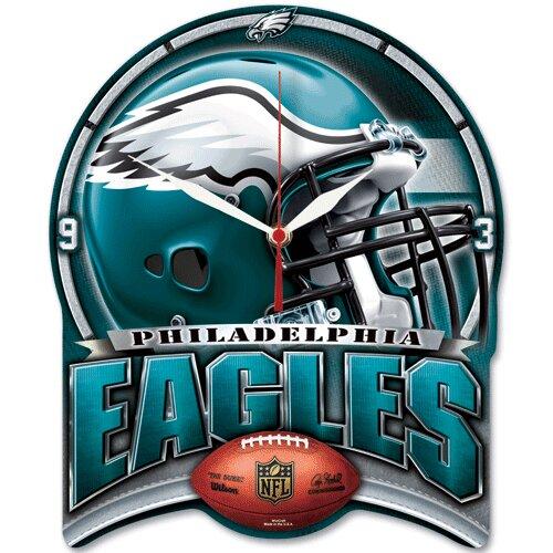 NFL High Def Plaque Wall Clock
