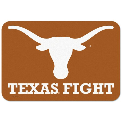 "Wincraft, Inc. Texas Longhorns ""Texas Fight"" Mat"