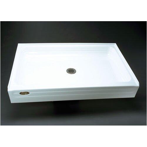 Jacuzzi® Tru-Level Square Single Threshold Shower Base