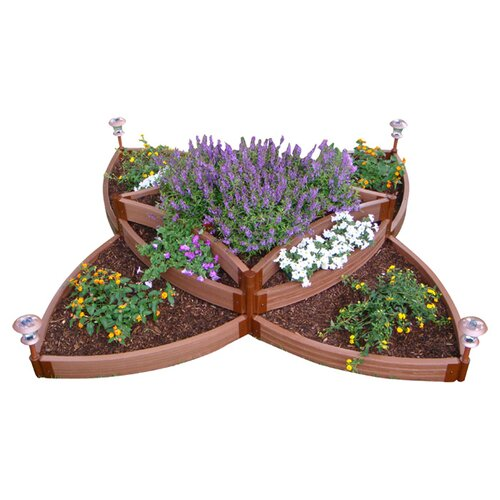 Versailles Sunburst Raised Garden Kit