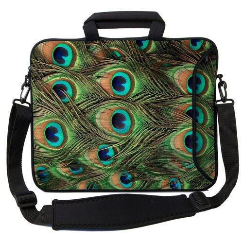 Executive Sleeves Peacock PC Laptop Bag