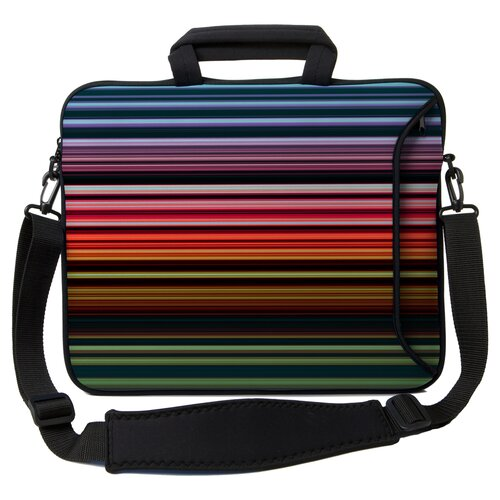 Executive Sleeves Retro Stripes PC Laptop Bag