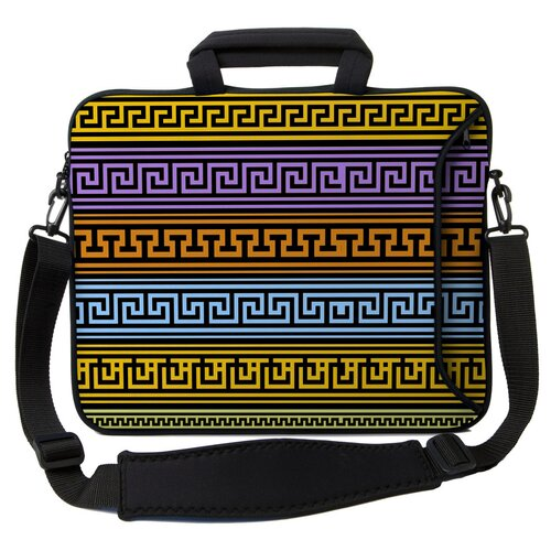 Executive Sleeves Greek Patterns PC Laptop Bag