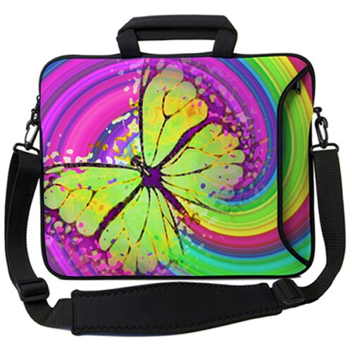 Designer Sleeves Executive Sleeves 60's Butterfly PC Laptop Bag