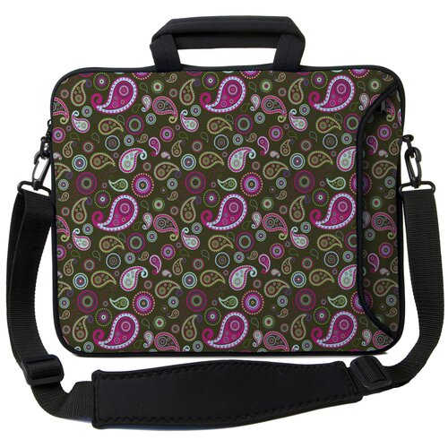 Executive Sleeves Paisley 2 PC Laptop Bag