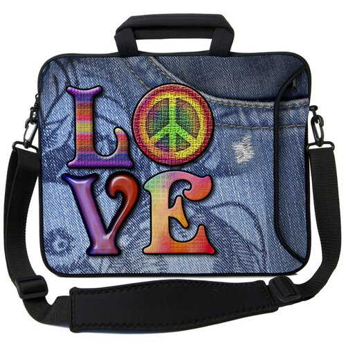Executive Sleeves Love(Peace) PC Laptop Bag