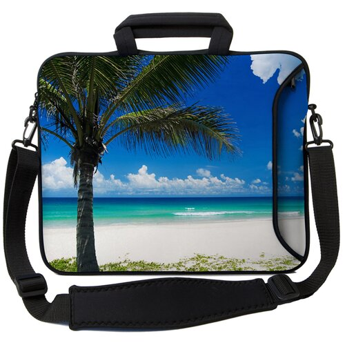 Executive Sleeves Paradise Beach PC Laptop Bag