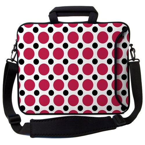 Designer Sleeves Executive Sleeves Polka Dots PC Laptop Bag