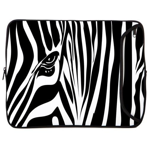 Designer Sleeves Zebra Eye Designer PC Sleeve