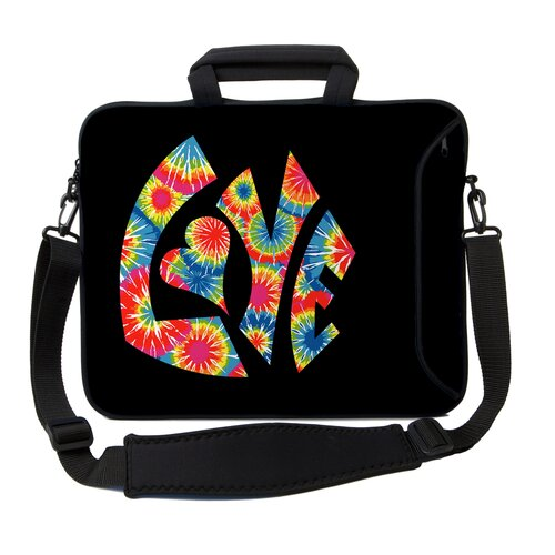 Executive Sleeves Tie Dye Love PC Laptop Bag