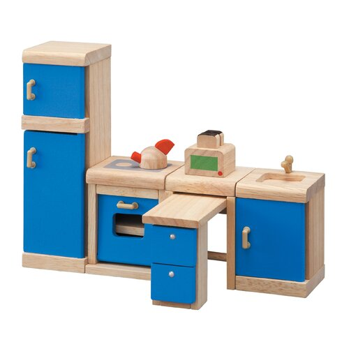 Plan Toys Dollhouse Kitchen - Neo