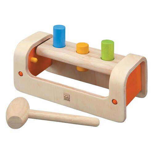 Plan Toys Preschool Pounding Bench