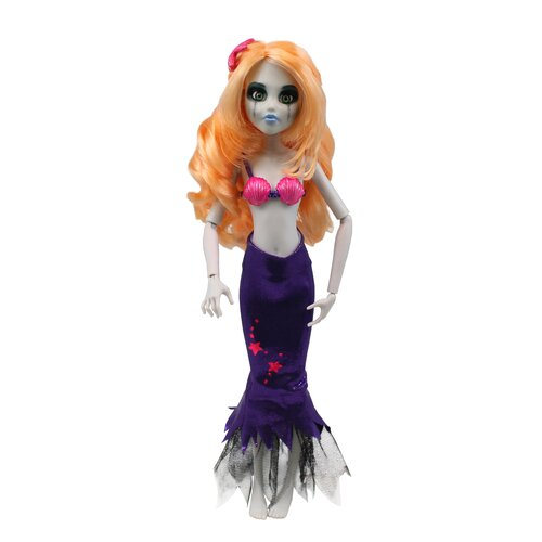 Once Upon a Zombie Mermaid Doll