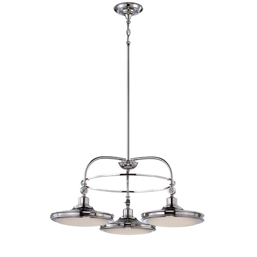 Houston 3 Light Dinette Chandelier
