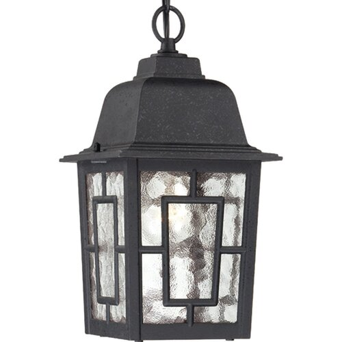 Nuvo Lighting Banyon 1 Light Outdoor Hanging Lantern