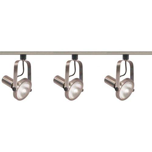 Nuvo Lighting 3 Light Gimbal Ring Track Light Kit