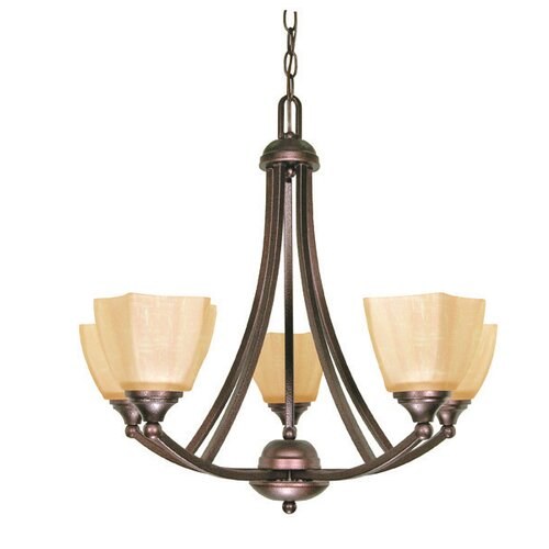 Normandy 5 Light Chandelier