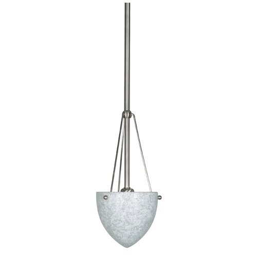 Nuvo Lighting South Beach 1 Light Mini Inverted Pendant