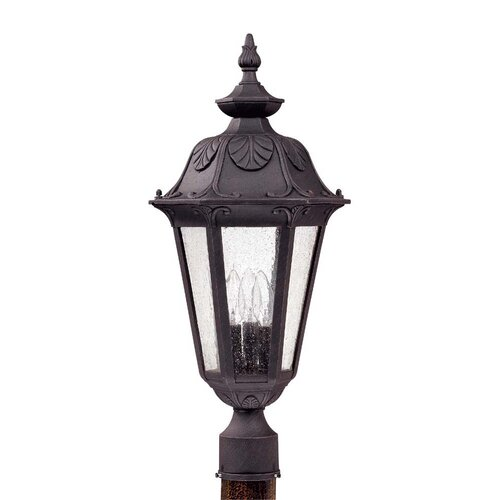 Nuvo Lighting Cortland 3 Light Post Lantern