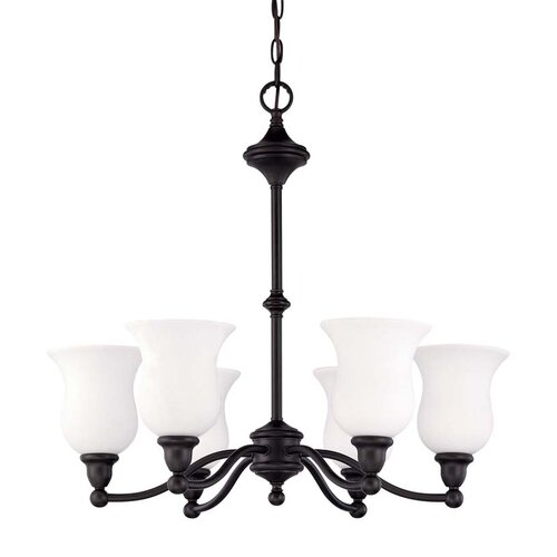 Nuvo Lighting Glenwood 6 Light Chandelier