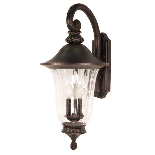 Nuvo Lighting Parisian 3 Light Wall Lantern