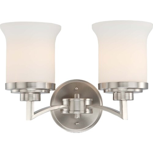 Nuvo Lighting Harmony 2 Light Bath Vanity Light