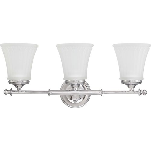 Nuvo Lighting Teller 3 Light Bath Vanity Light