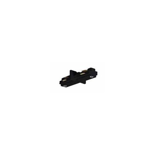Nuvo Lighting Mini Straight Track Light Connector in Black