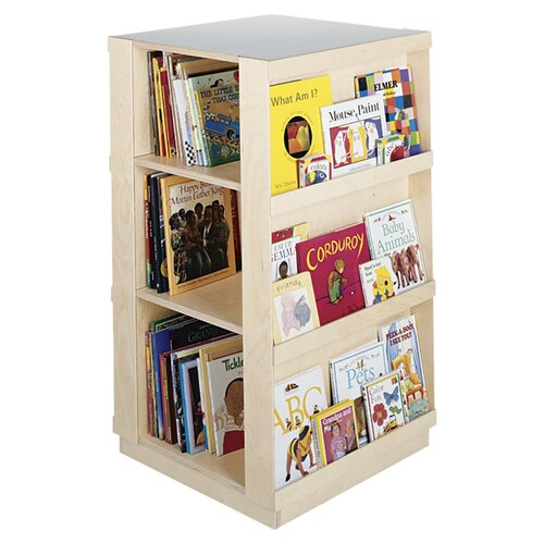 Guidecraft Big 4 Sided Library Book Display