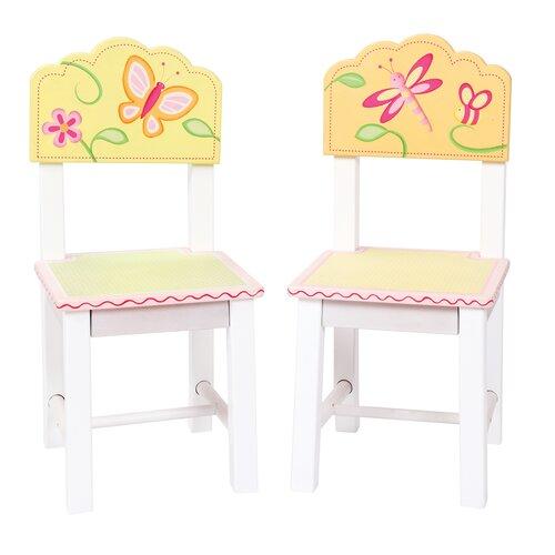 Gleeful Bugs Kids Desk Chair (Set of 2)
