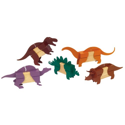 Guidecraft Dinosaur Block Mates