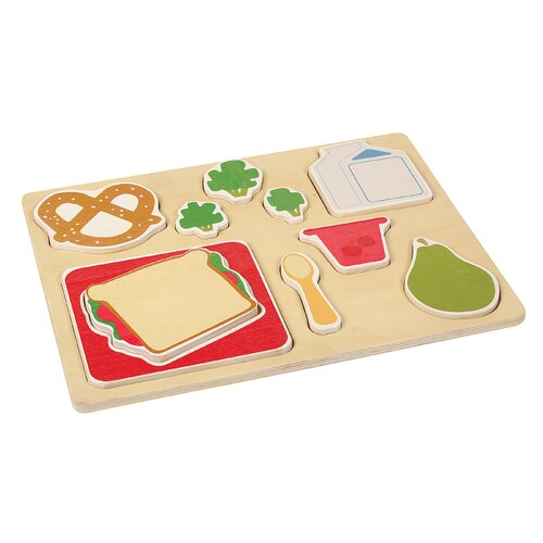 Guidecraft Lunch Sorting Food Tray