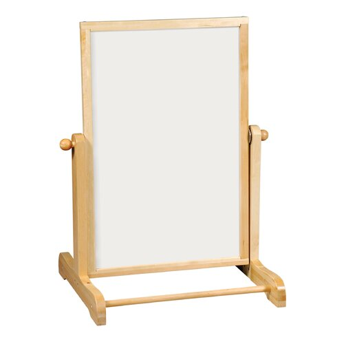 "Guidecraft Big Swing Message 3' 8"" x 2' 8"" Whiteboard"