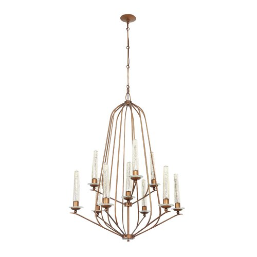 Madison 10 Light Candle Chandelier