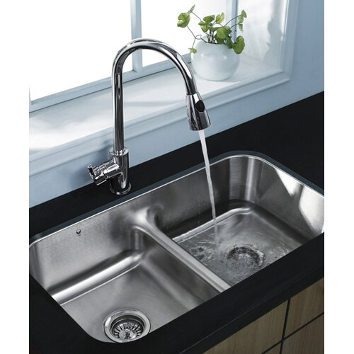 Vigo Rodeo One Handle Single Hole Pull Out Kitchen Faucet & Reviews ...