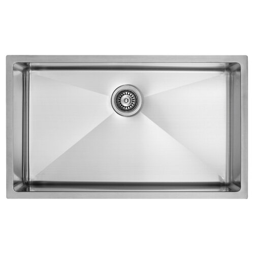 """Vigo 30"""" x 19"""" Undermount Kitchen Sink"""